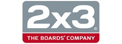 2x3 logo